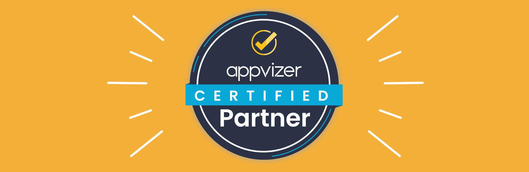 Warum wird ein appvizer Certified Partner Badge einer Software zugewiesen?