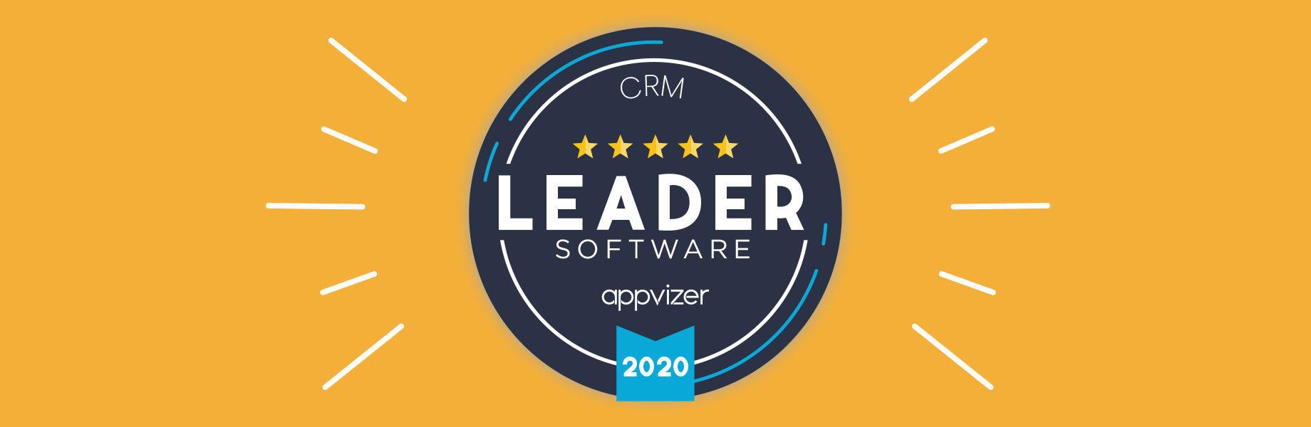 Warum wird ein appvizer Leader Badge einem Softwareprogramm vergeben?