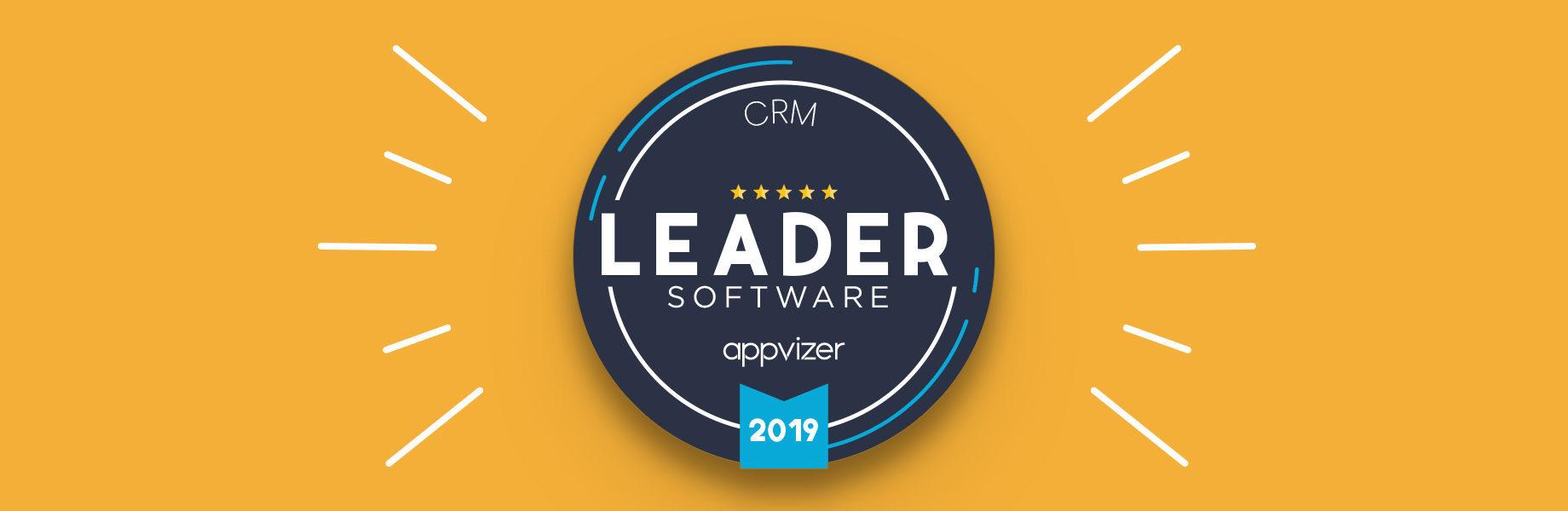 ¿Por qué un badge Leader appvizer es atribuido a un software?