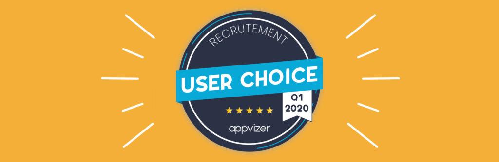 Badge appvizer User Choice