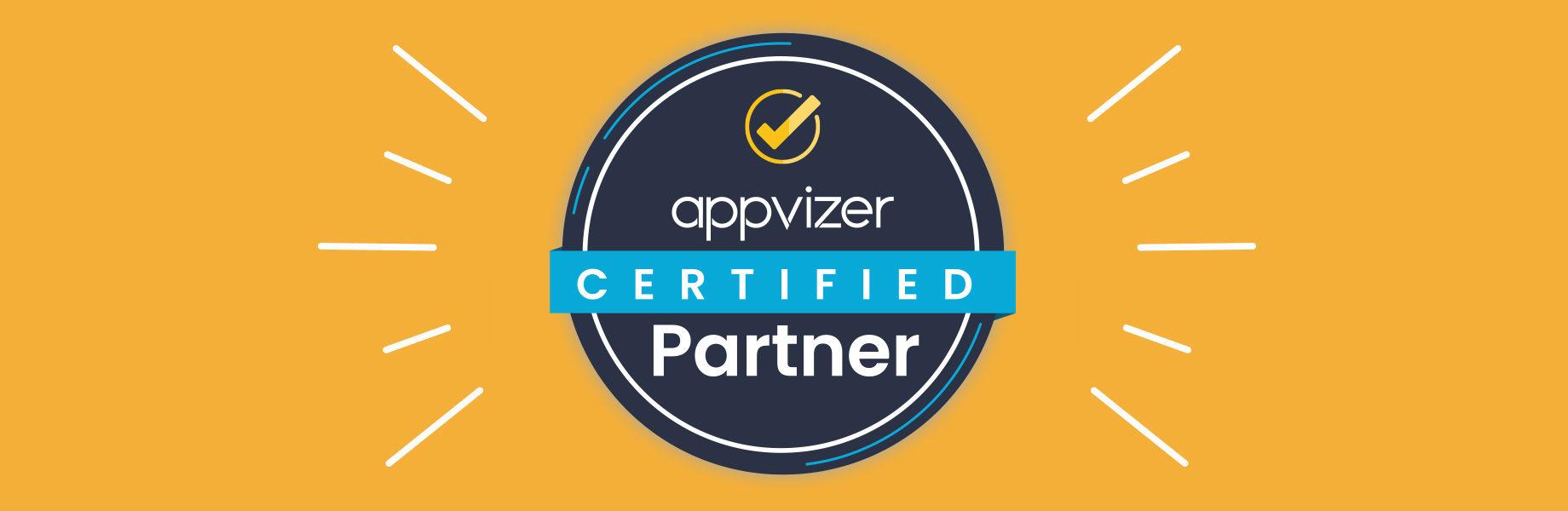 Pourquoi un badge Certified Partner appvizer est attribué à un logiciel ?